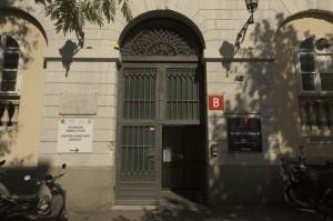Ospedale Maggiore - Entrata di via Pietà
